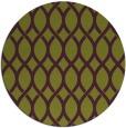rug #328749 | round green circles rug