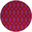 rug #328773 | round red rug