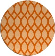 rug #328781 | round red-orange circles rug