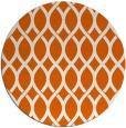 rug #328789 | round red-orange circles rug