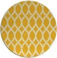 rug #328809 | round yellow rug