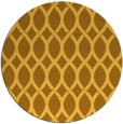 rug #328825 | round yellow circles rug
