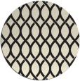 rug #328829   round black circles rug
