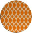 rug #328837 | round orange circles rug