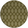 rug #328853 | round light-green circles rug