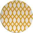 rug #328857   round light-orange circles rug