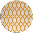 rug #328869 | round light-orange circles rug