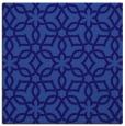rug #329329 | square blue-violet rug
