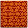 rug #329413 | square orange rug