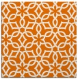 rug #329417   square orange geometry rug