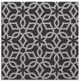 rug #329425 | square red-orange geometry rug
