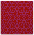 rug #329477 | square red rug