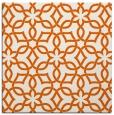 rug #329493 | square red-orange geometry rug