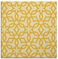 rug #329513 | square yellow rug