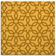rug #329529 | square yellow rug