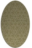 rug #329901 | oval light-green rug