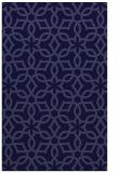 rug #330013 |  blue-violet geometry rug