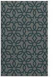 rug #330057    green geometry rug