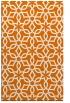 rug #330121    orange geometry rug