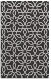 rug #330129    red-orange geometry rug
