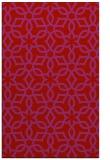 rug #330181 |  red geometry rug