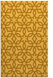 rug #330233 |  yellow geometry rug