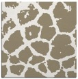 rug #330985 | square beige animal rug