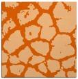 rug #331245 | square red-orange animal rug