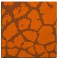 rug #331249   square red-orange animal rug