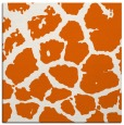 rug #331253 | square red-orange animal rug