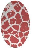 rug #331560 | oval animal rug