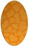 rug #331681 | oval light-orange animal rug