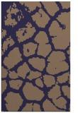 rug #331797 |  blue-violet animal rug