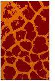 rug #331877 |  orange animal rug