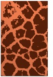 rug #331889 |  orange animal rug