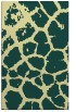 rug #331893 |  blue-green animal rug
