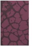 rug #331913 |  purple animal rug