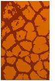 rug #331945 |  red-orange animal rug