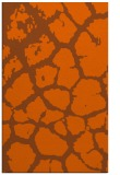 rug #331953 |  red-orange animal rug