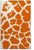 rug #331957 |  red-orange animal rug