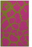 rug #332017 |  light-green animal rug