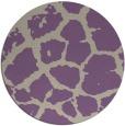 rug #332221 | round beige animal rug