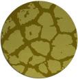 rug #332361 | round light-green rug