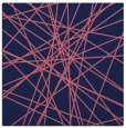 rug #332837 | square blue-violet rug