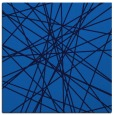 rug #332913 | square blue abstract rug
