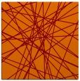 rug #332933 | square red-orange graphic rug