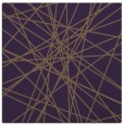 rug #332977 | square purple abstract rug