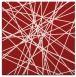 rug #332993 | square red graphic rug