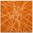 rug #333005 | square red-orange abstract rug
