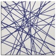 rug #333025 | square blue abstract rug